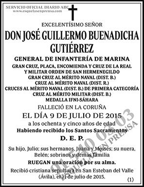 José Guillermo Buenadicha Gutiérrez